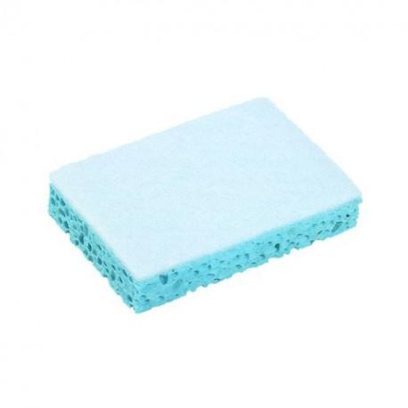 Éponge Bleu et Blanc