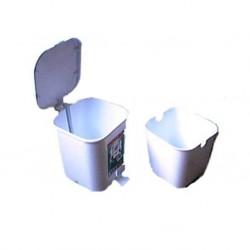 Poubelle 4L pour WC ou salle de bain